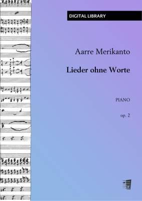 Lieder ohne Worte op. 2 - Piano (PDF)