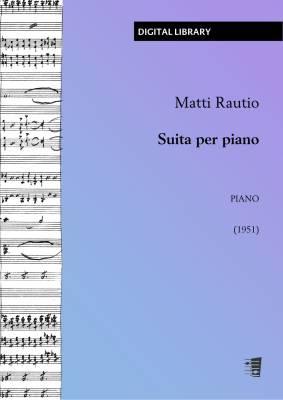 Suita per piano - Piano (PDF)