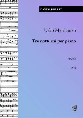 Tre notturni per piano - Piano (PDF)