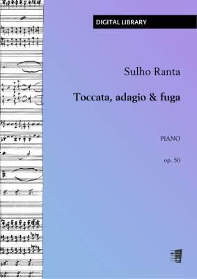 Toccata, adagio & fuga op. 50 - Piano (PDF)