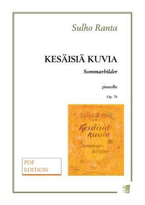 Kesäisiä päiviä - Sarja pieniä pianosävellyksiä lapsille op. 78 - Piano (PDF)