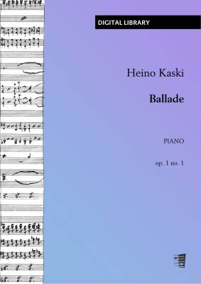 Ballade op. 1 no. 1 - Piano (PDF)