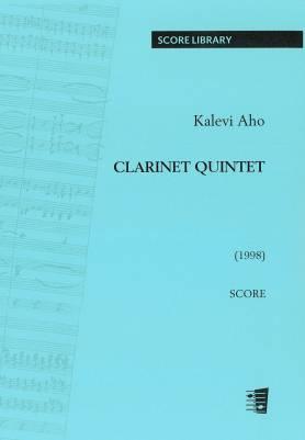 Clarinet Quintet for clarinet and string quartet - Score
