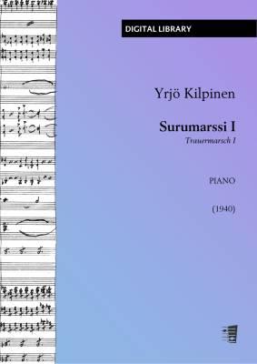 Surumarssi I (Trauermarsch I) - Piano (PDF)