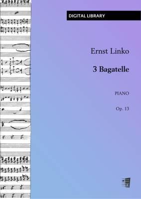 3 Bagatelle op. 13 - Piano (PDF)