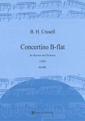Concertino for bassoon B-flat