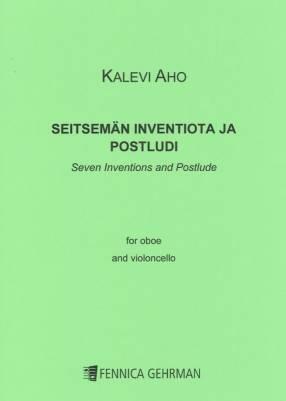 Seven Inventions and Postlude / Seitsemän inventiota ja postludi