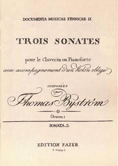 Sonata / Sonaatti op 1/3