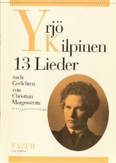 13 Lieder nach Gedichten von Morgenstern / 13 laulua Morgensternin runoihin