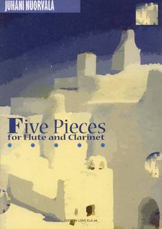 Five Pieces for Flute and Clarinet